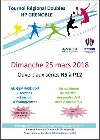 tournoi de doubles HP